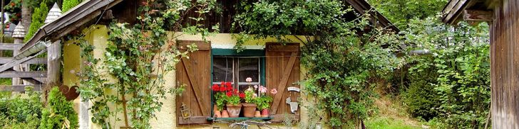 Build your own Traditional English cottage garden